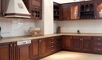 <b>原木定制厨房效果图,整木定制图片</b>