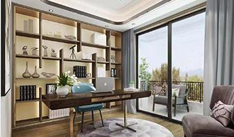 整木定制别墅装修现代极简轻奢风格效果图