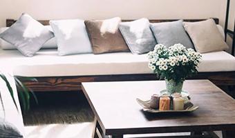 全屋整木定制,客厅所在幸福所向