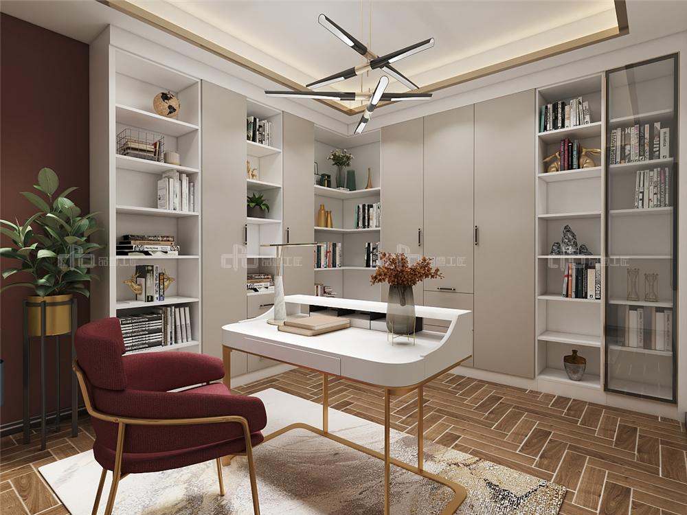 整木定制书房
